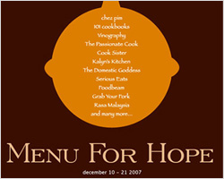 Menu For Hope 4: West Coast Raffle Results Announced!