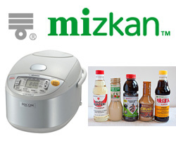 Zojirushi Rice Cooker & Mizkan Bundle Giveaway (CLOSED)