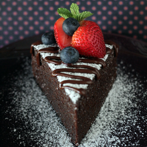 NO-BAKE Chocolate Cake – Moist, soft, and THE MOST decadent chocolate cake recipe EVER, perfect for V Day!!! | rasamalaysia.com
