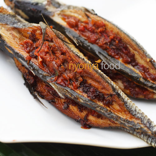 Fried Fish Stuffed with Sambal (Rempah Fish)