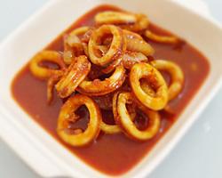 Sambal Tumis Sotong (Squid Sambal)