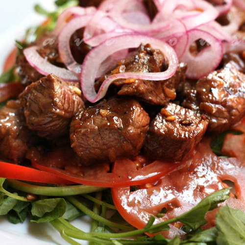 Bo Luc Lac (Vietnamese Shaking Beef)
