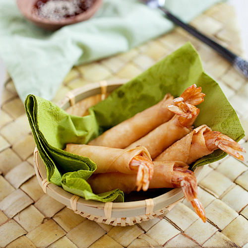 Shrimp & Cheese Shring Rolls