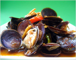 Stir-fried Savory Clams Recipe