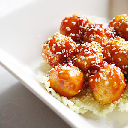 Sweet and Sour Fish Balls Recipe
