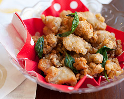Taiwanese Salt & Pepper Chicken