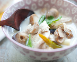 Tom Kha Gai Recipe (Thai Coconut Chicken Soup)