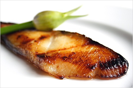 Black Cod with Miso / Miso-marinated Black Cod