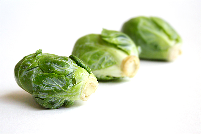 Stir-fried Brussels Sprout Recipe with Dried Sole | Easy Delicious ...