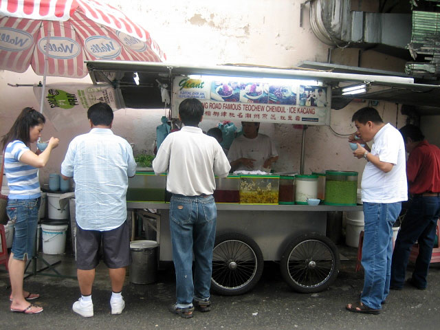Cendol Stall in Penang Road