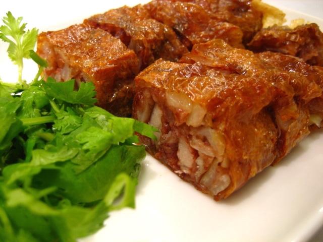 Taiwanese Chicken Rolls