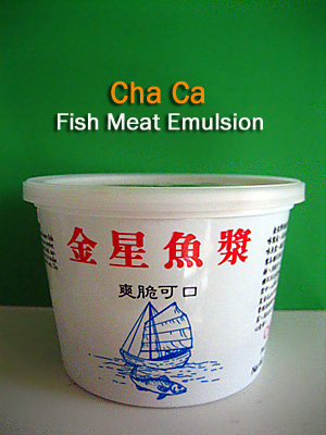Cha Ca Fish Meat Emulsion / 金星鱼浆