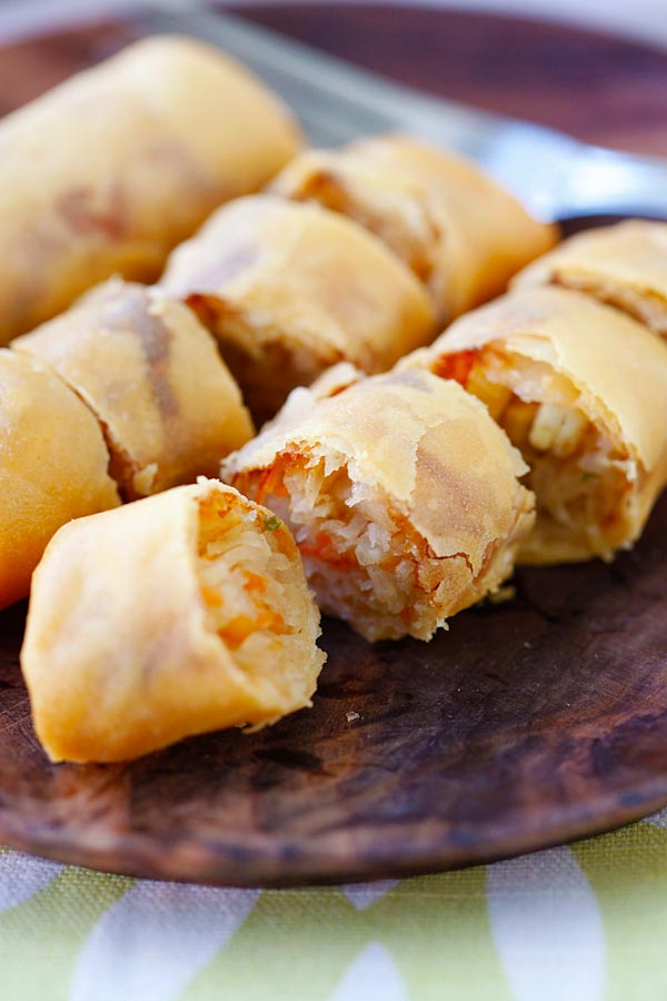 Fried spring rolls – the best and crispiest spring rolls recipe ever ...