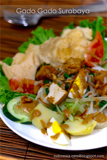 Indonesian recipe: Gado-Gado