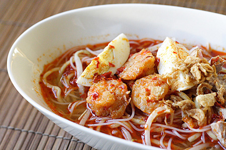 Penang Hokkien Mee/Prawn Noodle Soup