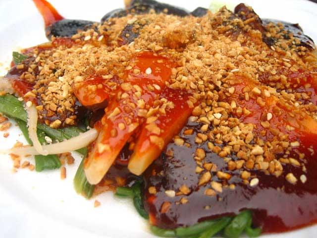 Ju Hu Eng Chai / Cuttlefish Salad