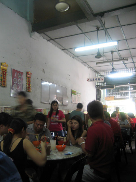Inside a Busy Kopitiam in Georgetown, Penang