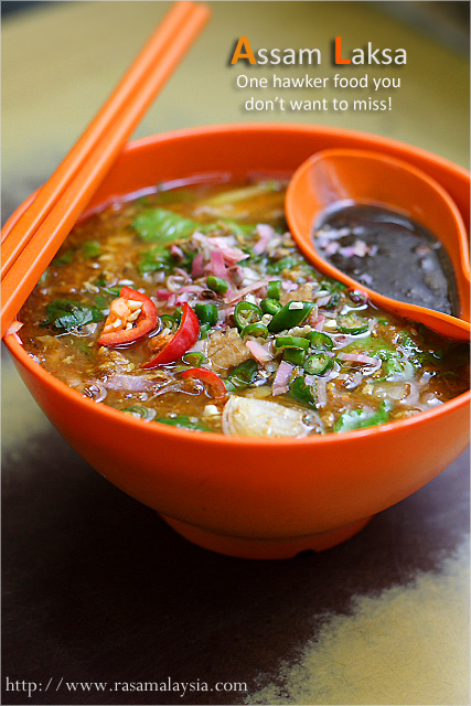 "Penang Assam Laksa–commonly referred to as ""laksa"" by Penangites ..."