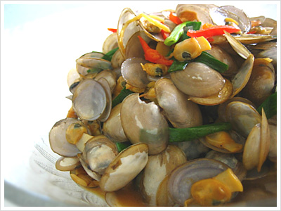 Stir-fried La La with Soy Sauce