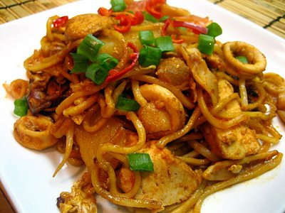 Indian Mee Goreng / Indian Fried Noodles