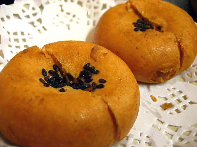 Red Bean Paste Bun / 南乳豆沙