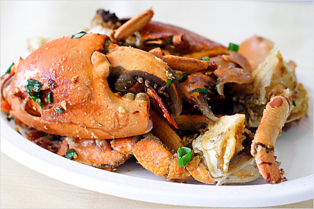 Salt and Pepper Mud Crab