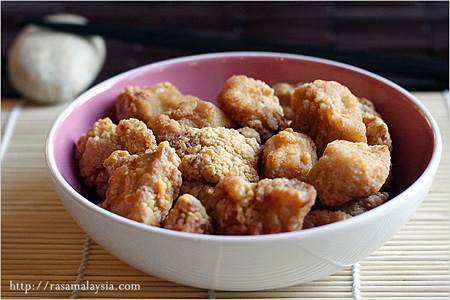 Chicken Karaage (Sesame Fried Chicken)