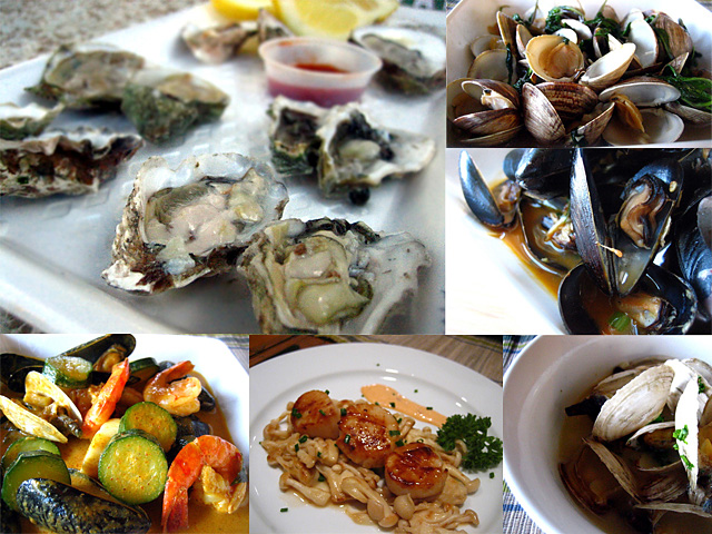 Pics of shellfish for 7 fishes christmas eve