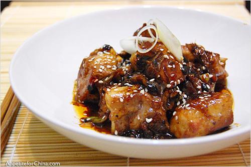 Pork black beans recipe chinese