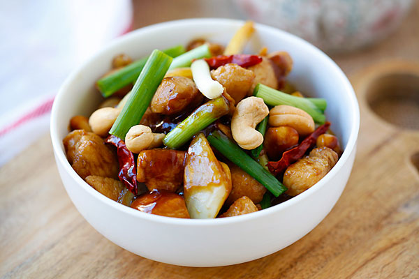 Spicy Cashew Chicken – easy and delicious chicken with cashew nuts ...