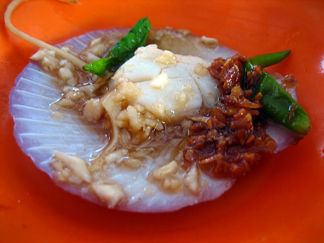 Steamed Scallops, Bukit Tambun
