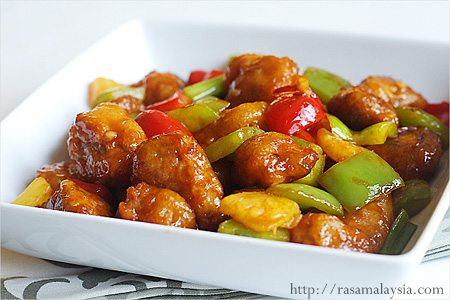 Rasa Malaysia's Secret Ingredients for Sweet and Sour Pork: