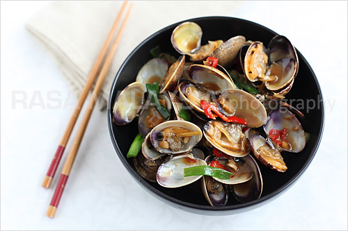 clams1 Taiwanese style Clams (台式炒蛤蜊)