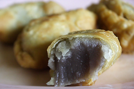 Taro/Yam Paste (Or Nee) Puff