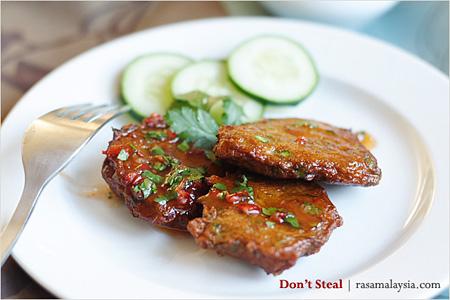 Thai Fish Cake (Tod Mun Pla)