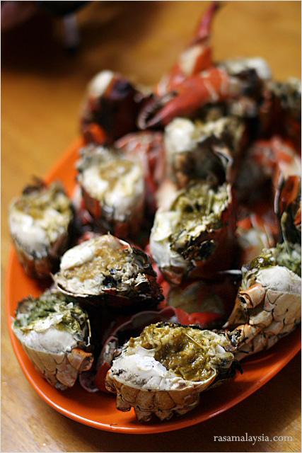 Wok-baked Crab