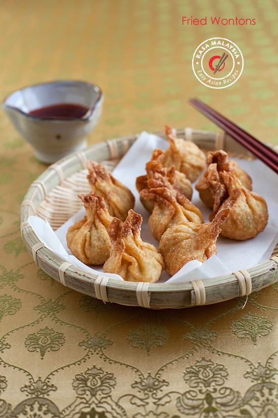 Fried Wontons | Easy Delicious Recipes: Rasa Malaysia
