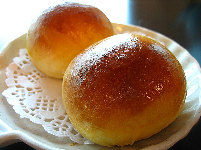 Pan-fried Sweet Yam Bun / 香芋包