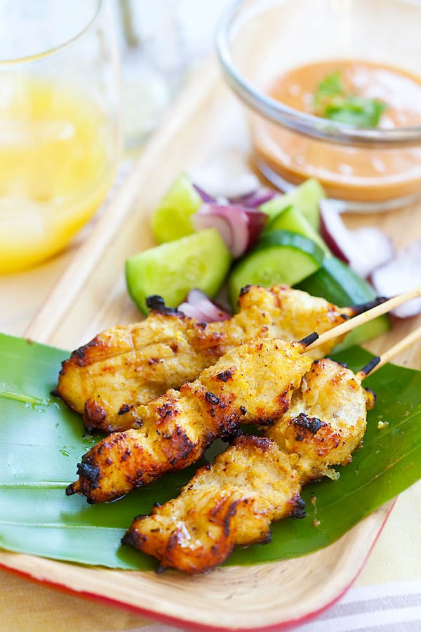 Malaysian Chicken Satay | Great Appetizers From All Around The World | Appetizers Menu