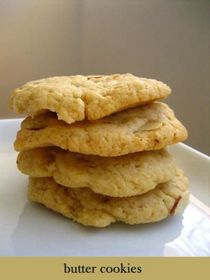 Almond Cookies Recipe - Almond cookies symbolize coins and will be sure to bring you good fortune. | rasamalaysia.com