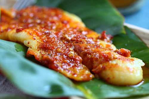 Fish grill with spicy marinade.