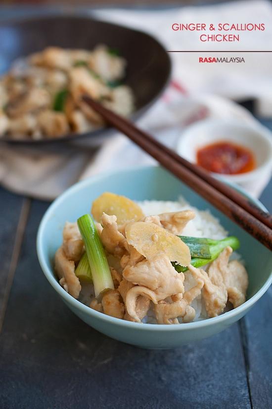 Ginger and scallion chicken easy delicious recipes ginger and scallion chicken is an easy chinese chicken dish made with ginger scallion and forumfinder Choice Image