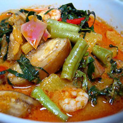 Nyonya Pickled Fish Stomach Curry
