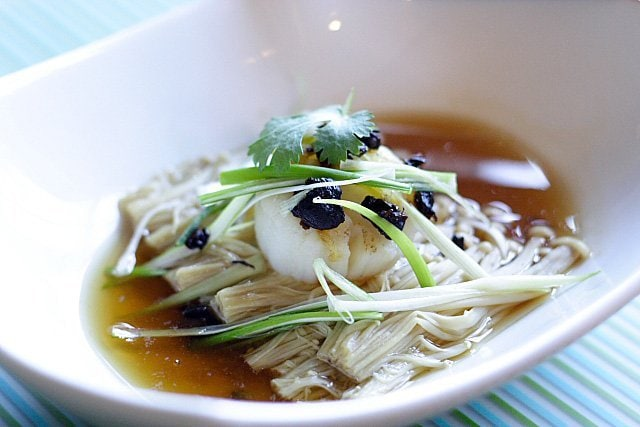 Steamed Scallops with Fermented Black Beans Recipe   rasamalaysia.com