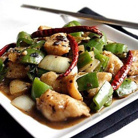 Stir-fried Fish Fillet with Black Bean Sauce