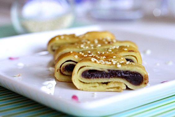 Red Bean Paste Pancakes Rasa Malaysia