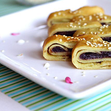 Red Bean Paste Pancakes Recipe
