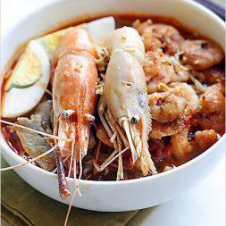 Prawn Noodle Soup (Penang Hokkien Mee)