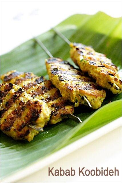 Kabab Koobideh and Kabab Koobideh recipe. Persian Kabab koobideh is delicious. Try this at home with this kabab koobideh recipe.   rasamalaysia.com