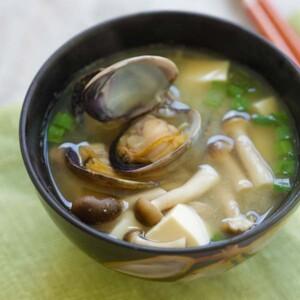 asari miso soup